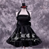 High Quality K-ON! Akiyama Mio Cosplay Halloween Party Lolita Dress Anime Cosplay Costume HD010