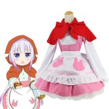Kobayashi-san Chi no Maid Dragon Cosplay Costume Japanese Anime Role Play Kanna Kamui Costumes COS-183