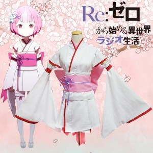 Life in a Different World From Zero Young Rem&Lahm Cosplay Costume Japanese Lolita Dress Anime Cosplay Costume COS-186