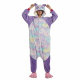 Adult Cartoon Flannel Unisex Stars Panda Onesie Animal Onesies Anime Kigurumi Costume Pajamas Sets KT101