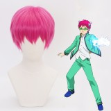 30cm Short Rose Saiki Kusuo no Psi Nan Saiki Kusuo Wig Synthetic Anime Cosplay Wig CS-388A