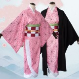 2019 New Demon Slayer Anime Kamado Nezuko Costume Halloween Cosplay Costumes COS-324
