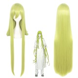 100cm Long Straight Green Fate/Grand Order Enkidu Wig Synthetic Hair Anime Cosplay Wigs CS-345L